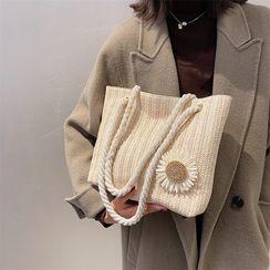 mizandrus - Straw Tote Bag