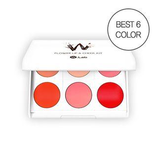 W.Lab - Flower Lip & Cheek Kit