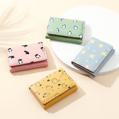 tablarosa - Cartoon Print Trifold Wallet