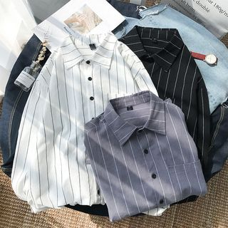 DuckleBeam - Long-Sleeve Striped Shirt