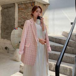 Jinyo - 格子西装外套