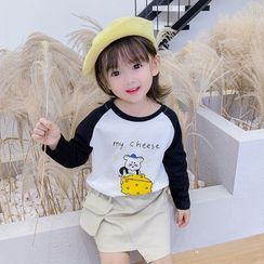 Ohori - Kids Long-Sleeve Printed T-Shirt