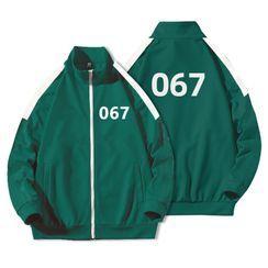 JECKO - '067' Printed Zipped Jacket