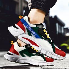 Signore - Color Block Platform Sneakers