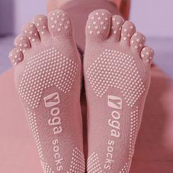 Charmaine - Non-Slip Yoga Toe Socks
