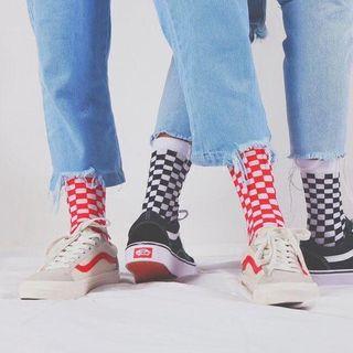 ASAIDA - Checked Socks