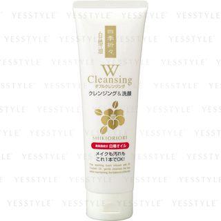KUMANO COSME - Shikioriori White Camellia Oil W Cleansing Foam