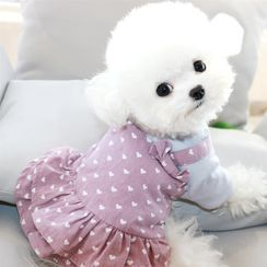 Bixin - Dotted Pet Dress