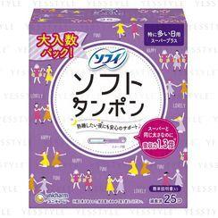Unicharm - Sofy Soft Tampons Super Plus