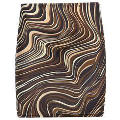 Cincine - Printed Mini Pencil Skirt