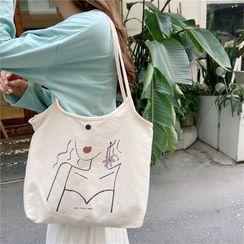 Eastin - 印花帆布购物袋
