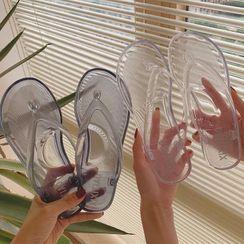 Honkizz - Transparent Flip-Flops