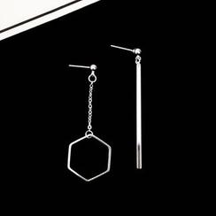 HEDGY - Asymmetric Drop Earrings