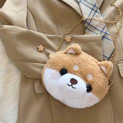 FuyuuNeko - Doggy Plush Crossbody Bag