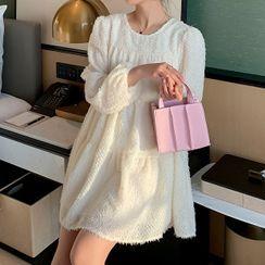 Hearty Bliss(ハーティブリス) - Maternity Long-Sleeve A-Line Dress