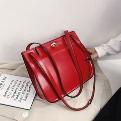 Miloes - Faux Leather Shoulder Bag
