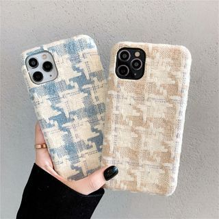 Zone Zero - 千鸟格手机保护套 - iPhone 11 Pro Max / 11 Pro / 11 / SE / XS Max / XS / XR / X / SE 2 / 8 / 8 Plus / 7 / 7 Plus
