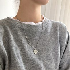 Assisi(アッシジ) - 925 Sterling Silver Lettering Pendant Necklace