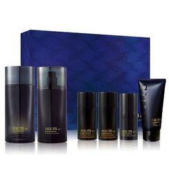 苏秘37 - Dear Homme Perfect Set: Toner 130ml + 25ml + Emulsion 110ml + 25ml + All-In-One Serum 5ml + Cleansing Foam 40ml