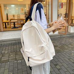 Carryme - 纯色拉链背包