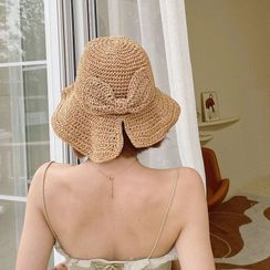 SOCOOL - Foldable Straw Bucket Hat