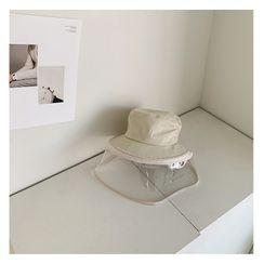 NANING9 - KIDS Transparent Panel Bucket Hat