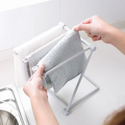 iswas - Foldable Dish Cloth Hanger