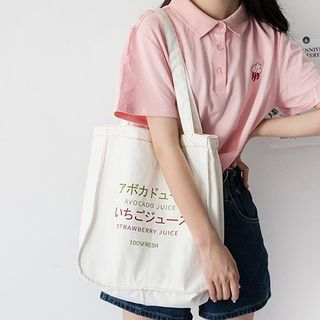 COLPO(コルポ) - Canvas Printed Tote Bag
