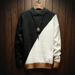 Ficus House - Color Block Sweater