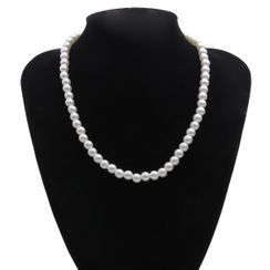 BAST - Faux Pearl Necklace