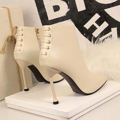 PRIN - Pointed High Heel Ankle Boots