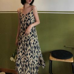 KARLY - Tie-Dye Camisole Dress