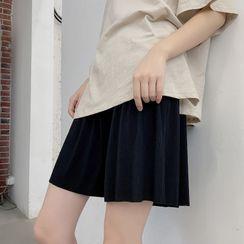POKU - Maternity Wide-Leg Shorts