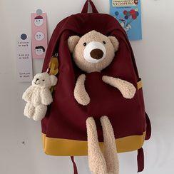 Caraket - 熊缀饰背包