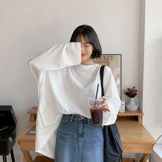 MERONGSHOP - Oversized Sweatshirt in 10 Colors