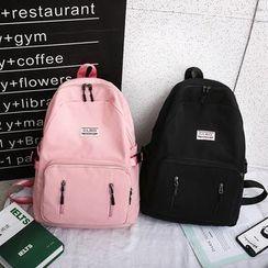 Rocktail - Pocket Detail Nylon Backpack