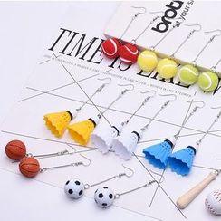 Alycia - Miniature Sports Dangle Earring (various designs)