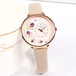 Epoca - Floral Strap Watch Box Set