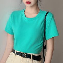 Dream Drop - Plain Short-Sleeve T-Shirt