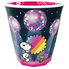 T'S Factory - SNOOPY Printed Plastic Cup (Rainbow Series/Dance)