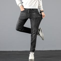 Denimic - 直筒牛仔褲