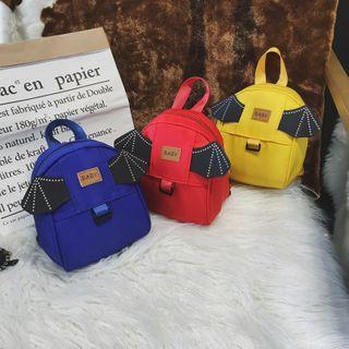 Trendy Spot - Kids Wings Applique Backpack