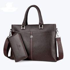 Mayanne - Genuine Leather Briefcase