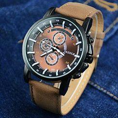 YAZOLE - 仿皮带手表