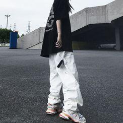 Koiyua - Paint Splatter Wide Leg Pants