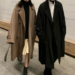 Phoneus - Double Breasted Trench Coat