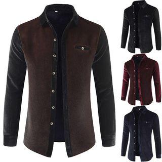Sheck(シェック) - Fleece-Lined Shirt
