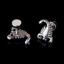 Prushia(プルシア) - Scorpion Plug Earring