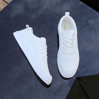 Solejoy - Faux-Leather Sneakers