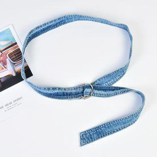 Palmi - Denim Sash Belt